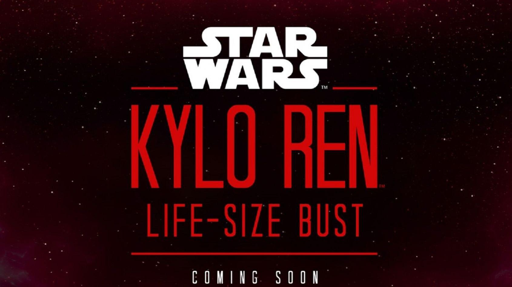 Sideshow: un buste life size de Kylo Ren