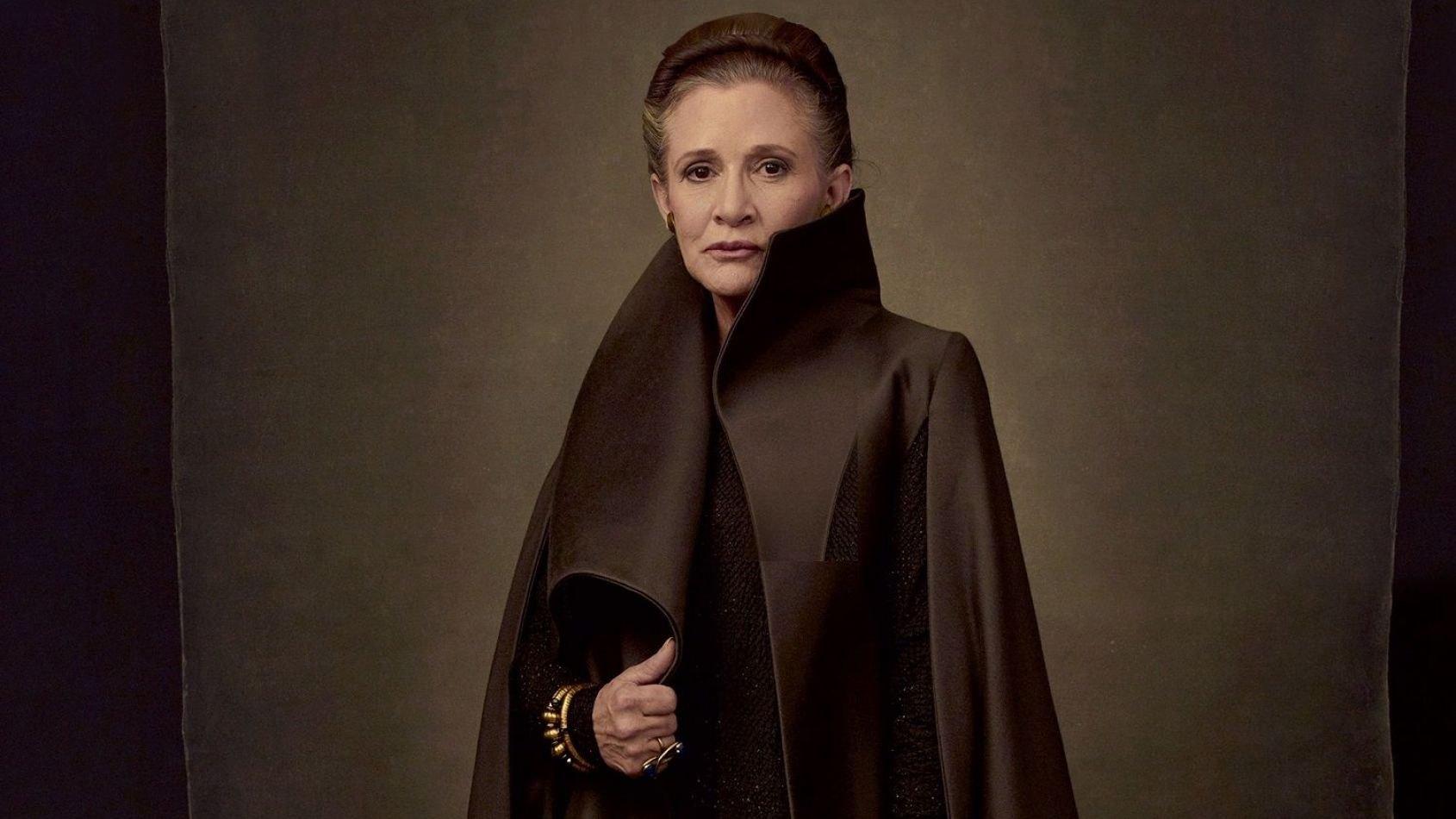 La contribution de Carrie Fisher aux dialogues des Derniers Jedi