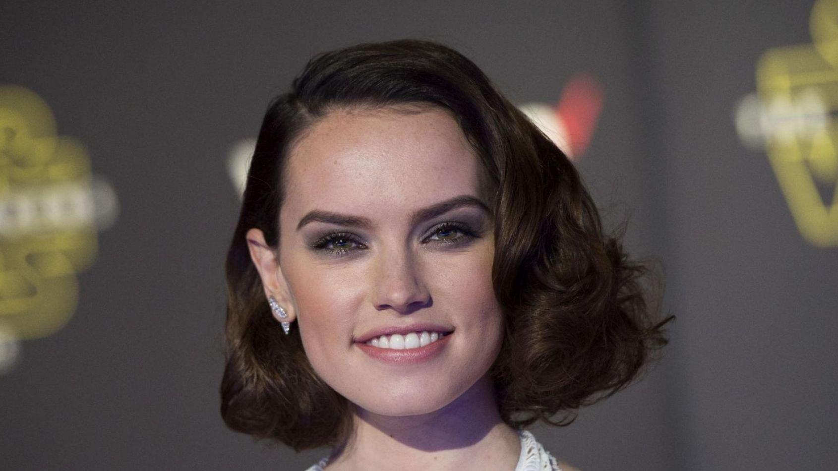 Daisy Ridley réticente à l'idée d'une romance pour Rey