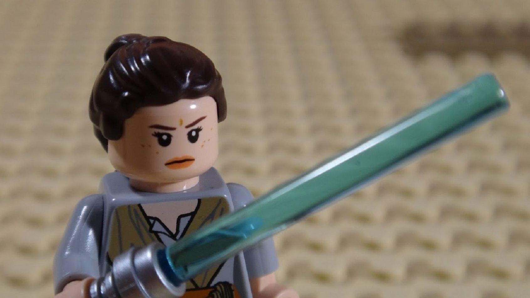 L'entraînement de Rey pertubé par les Porgs!