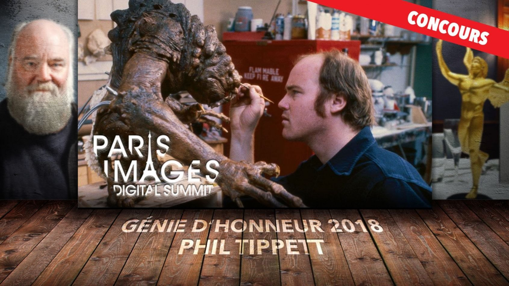 CONCOURS : Rencontrez Phil Tippett en Master Class !