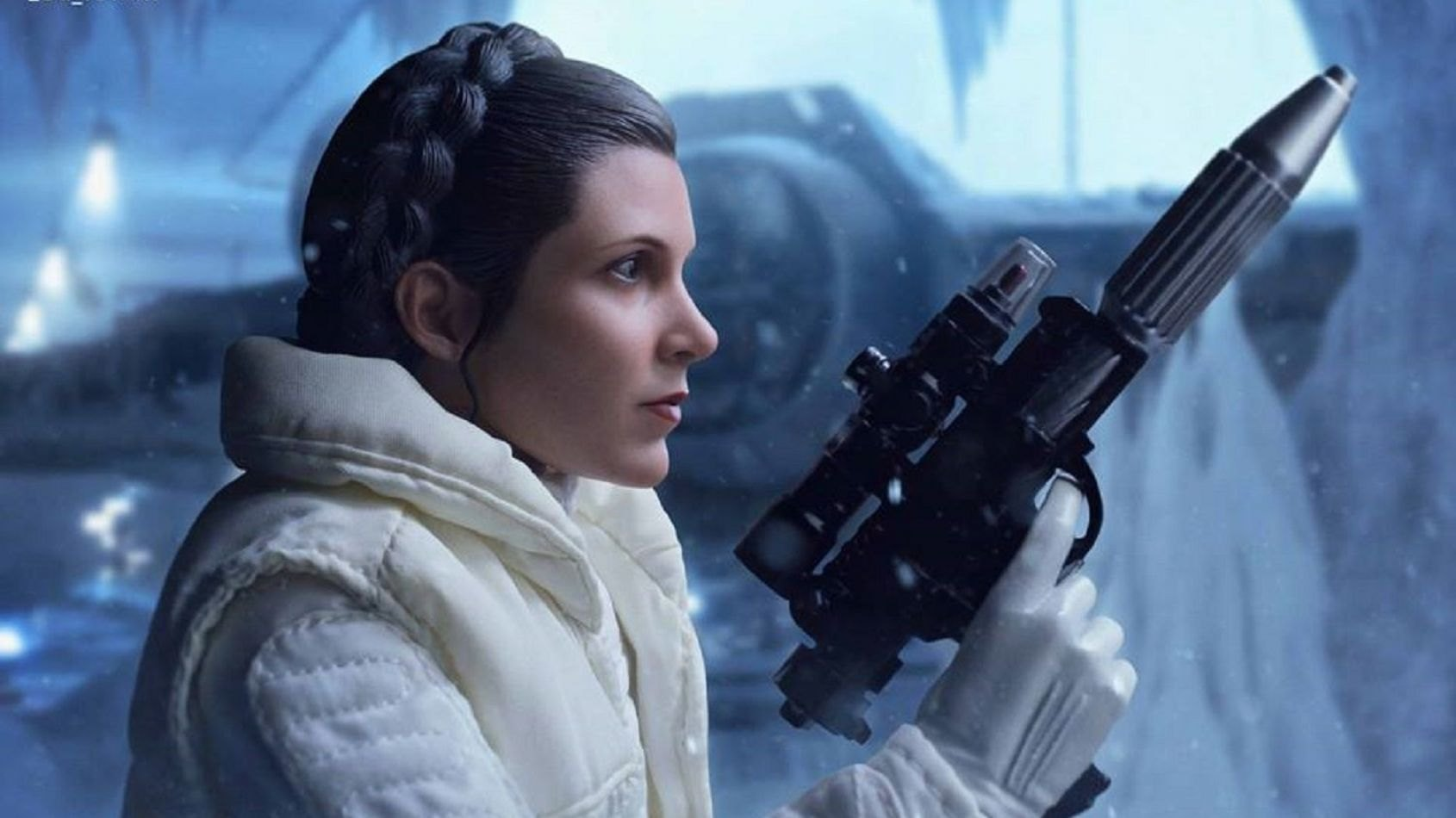 Hot Toys: la Princesse Leia de l'Empire Contre-Attaque