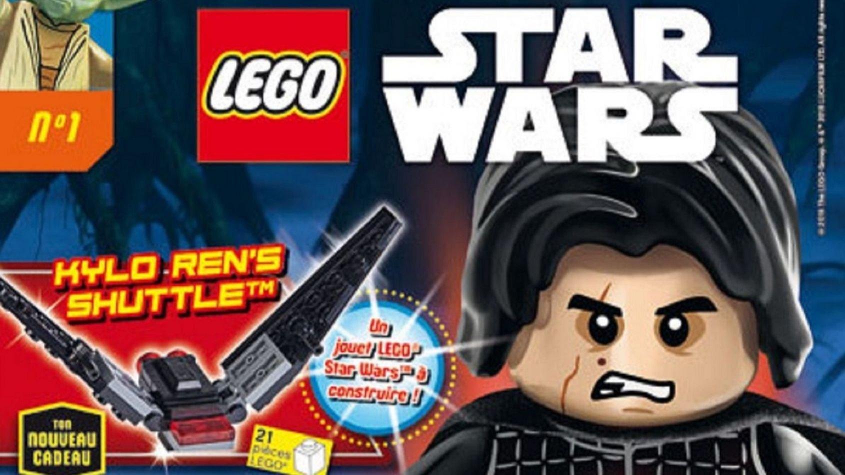 Panini Kids : Relaunch du magazine Lego Star Wars