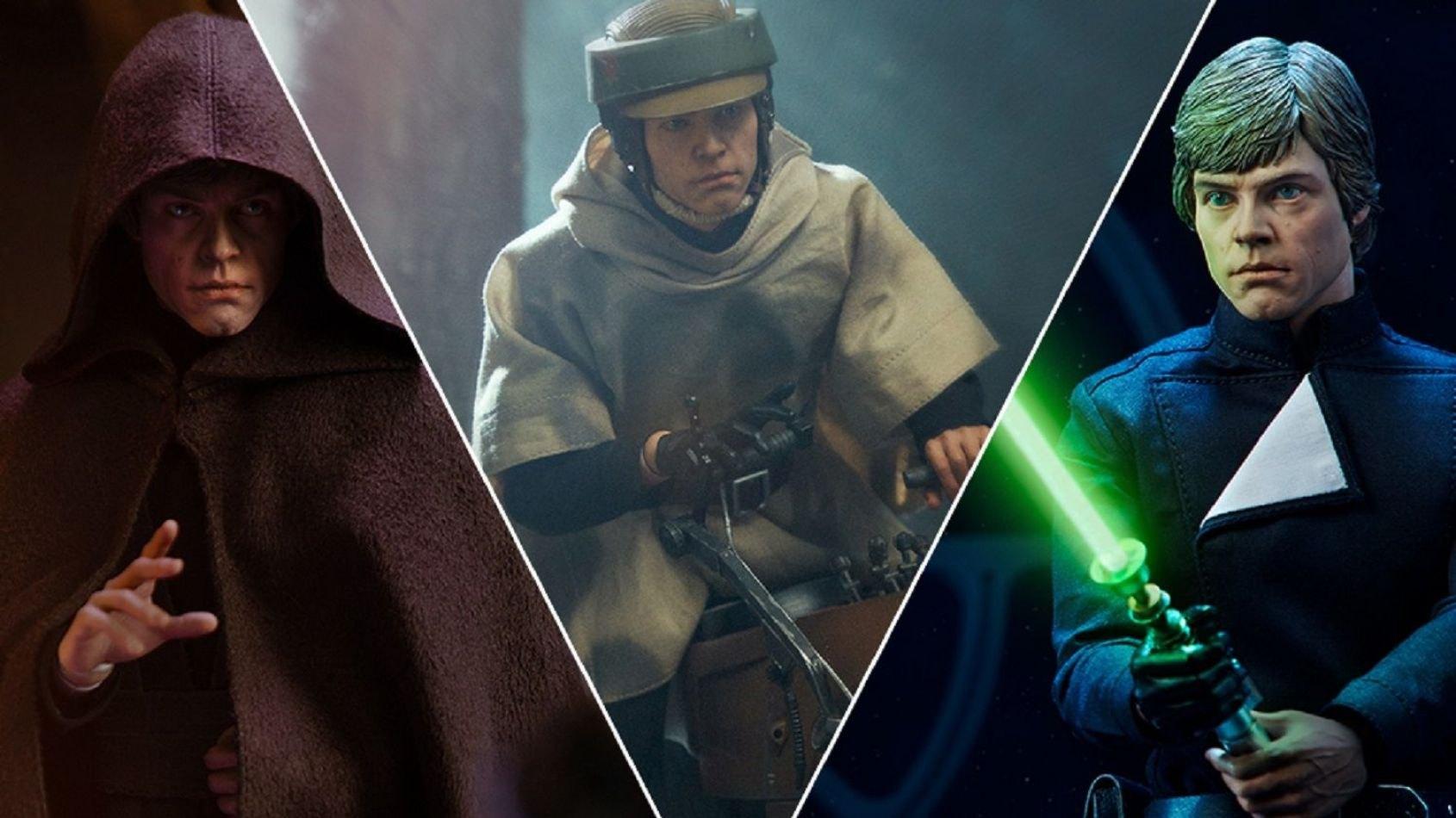 Luke Skywalker du Retour du Jedi par Sideshow