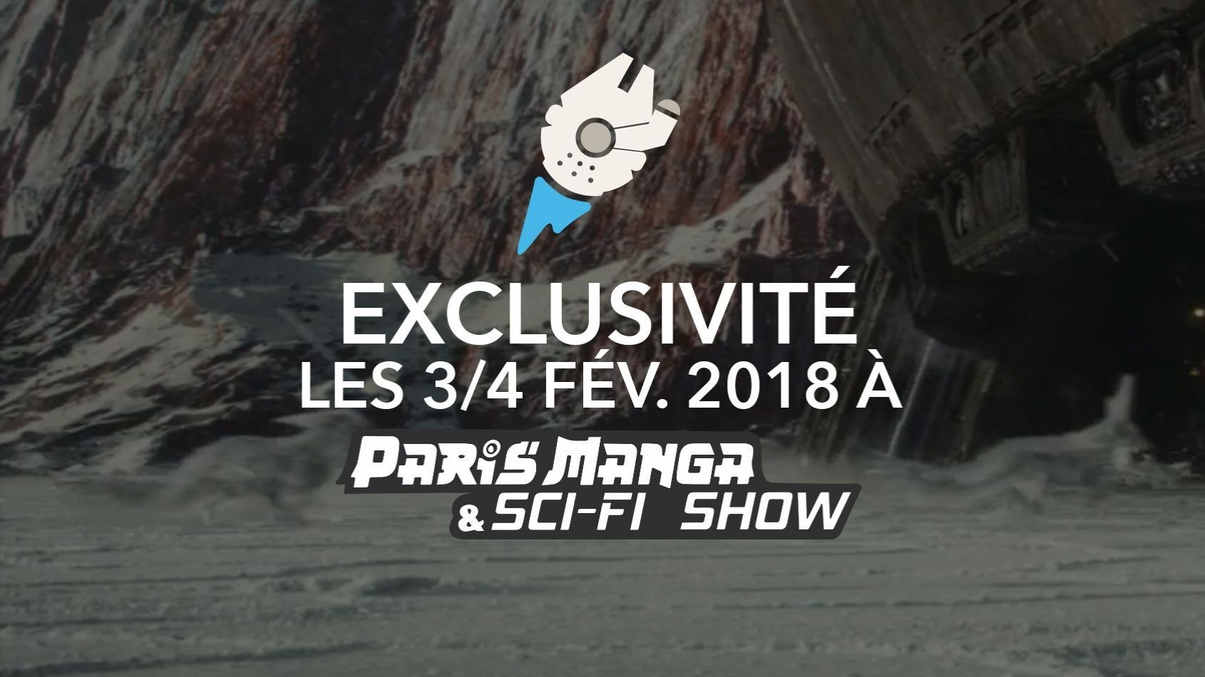 Exclusivité au Paris Manga et Sci-Fi show ce week-end !