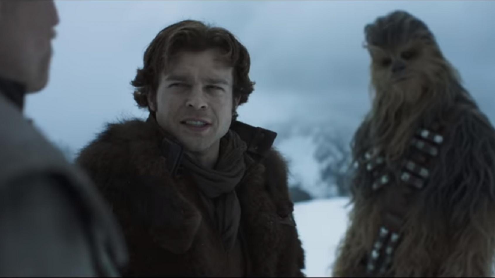 Premier trailer pour Solo !!!