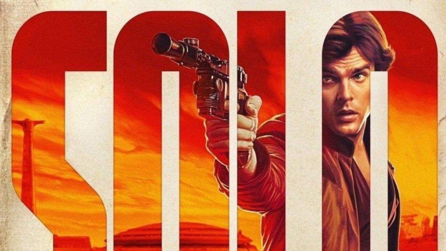 Un nouveau poster pour Solo, a Star Wars Story