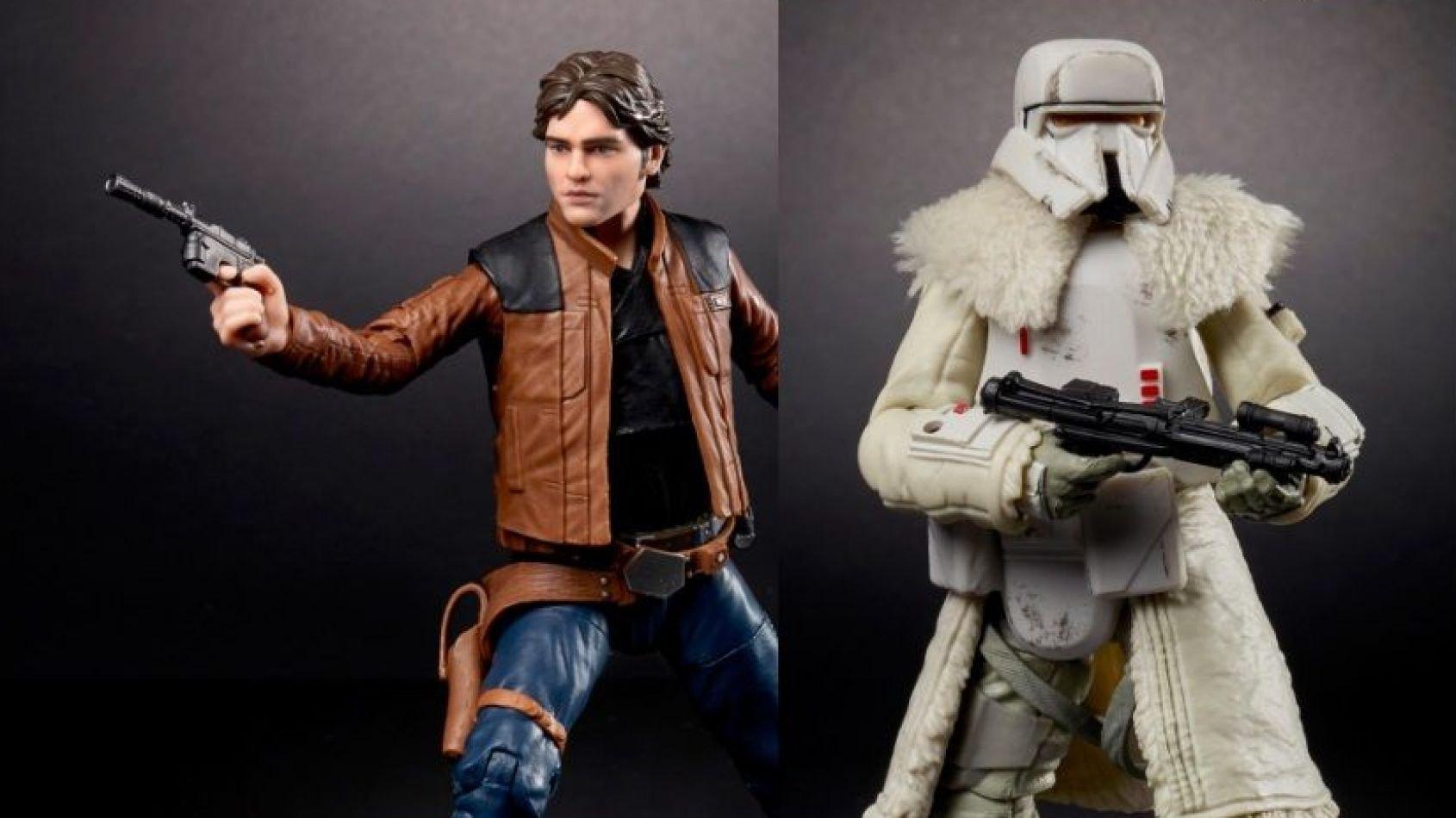 Les Figurines Blaskseries de Solo a Star Wars Story en images
