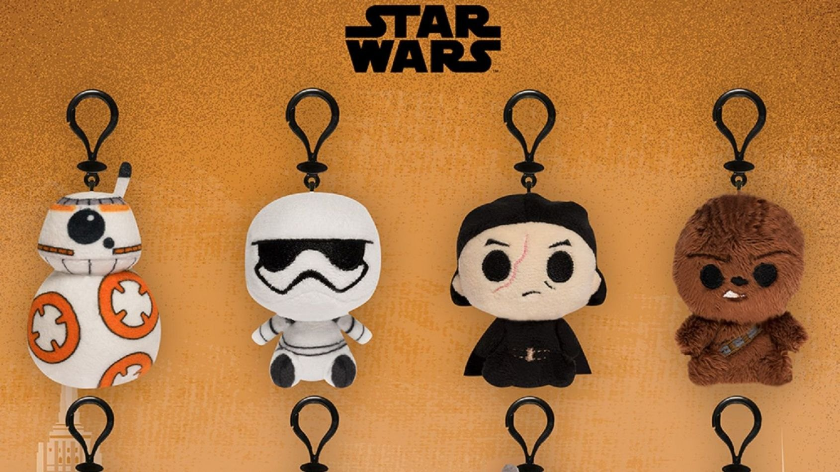 Des porte-clés des Derniers Jedi par Funko