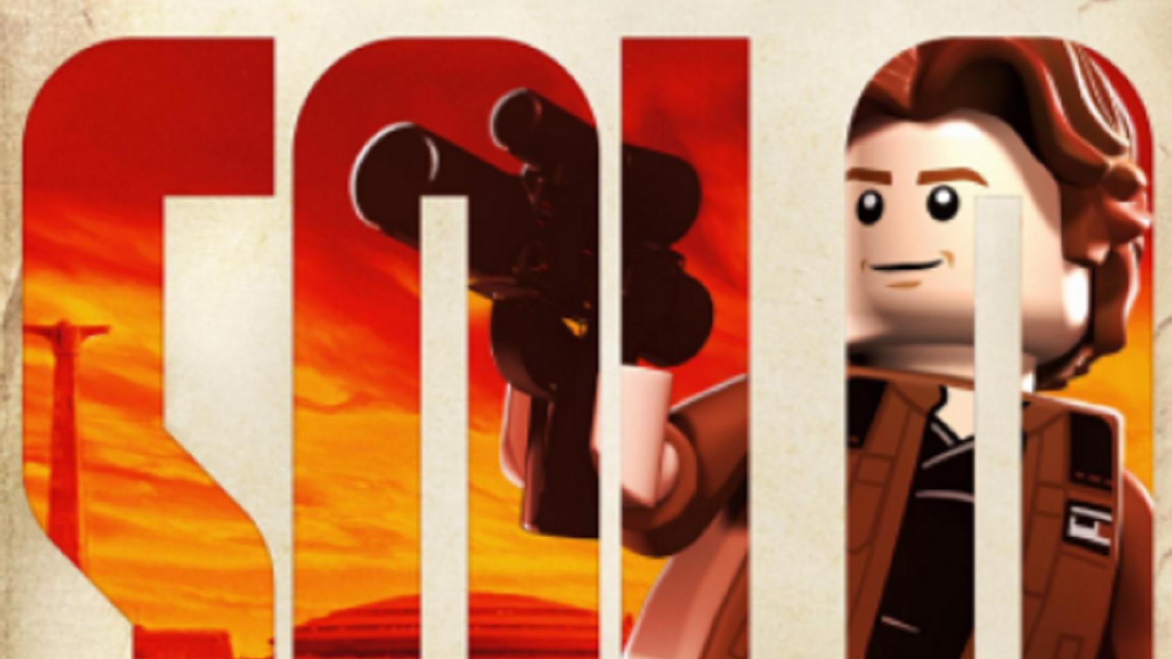 Les affiches de Solo .... version Lego