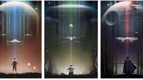 Les superbes dessins Star Wars d'Andy Fairhurst