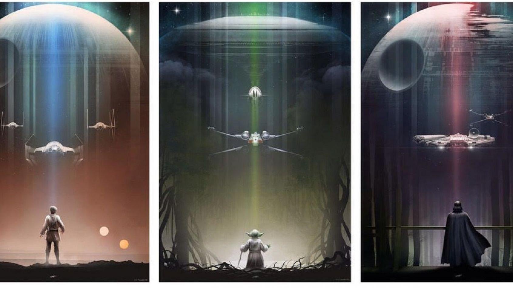 Les superbes dessins Star Wars d'Andy Fairhurst