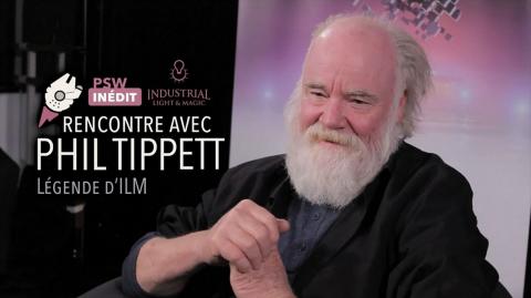 Interview Vidéo avec Phil Tippett, légende d'ILM !