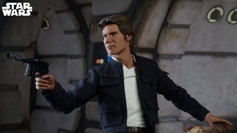 Sideshow: infos sur la figurine Han Solo version Premium