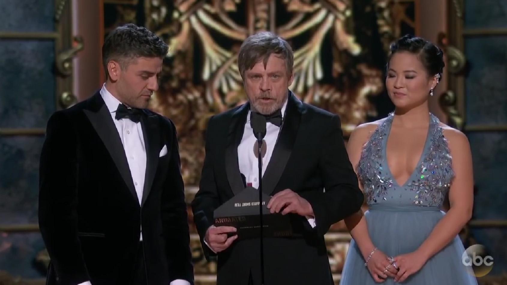 Pas d'Oscars pour les Derniers Jedi