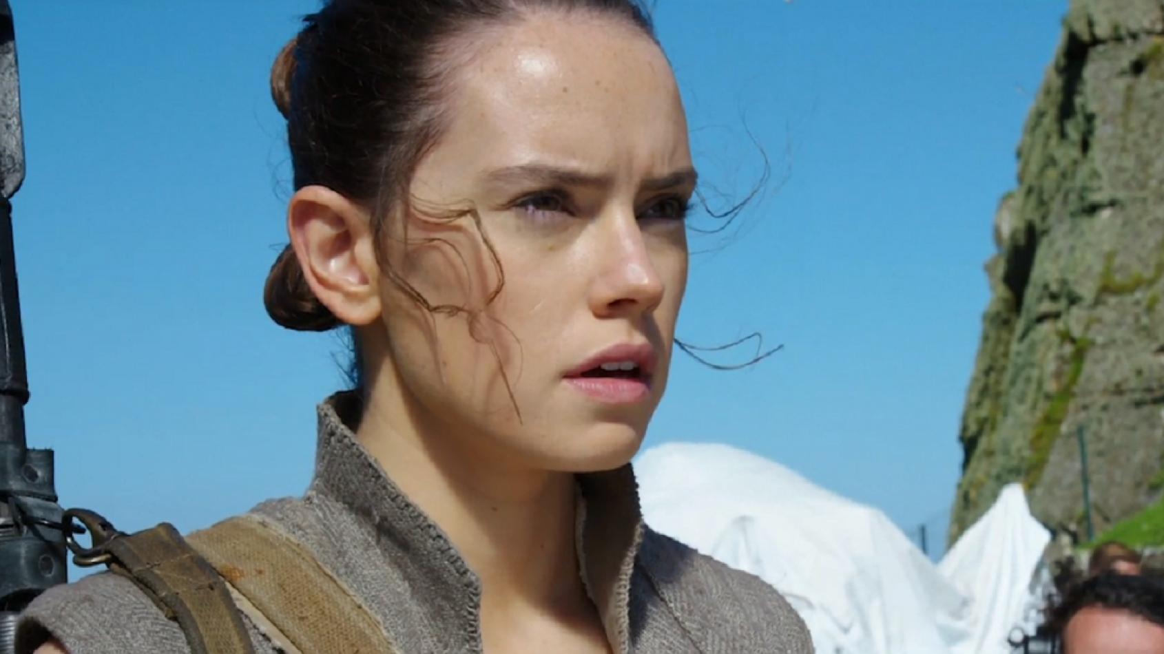 Nouvelle vidéo des coulisses des Derniers Jedi avec Rey sur Ahch-To