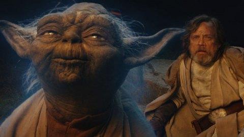 Vidéo: la réaction de Mark Hamill en revoyant Yoda