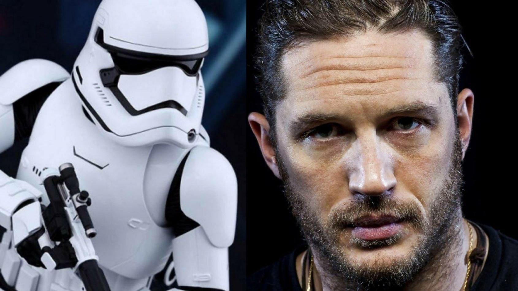 Tom Hardy dans Les Derniers Jedi