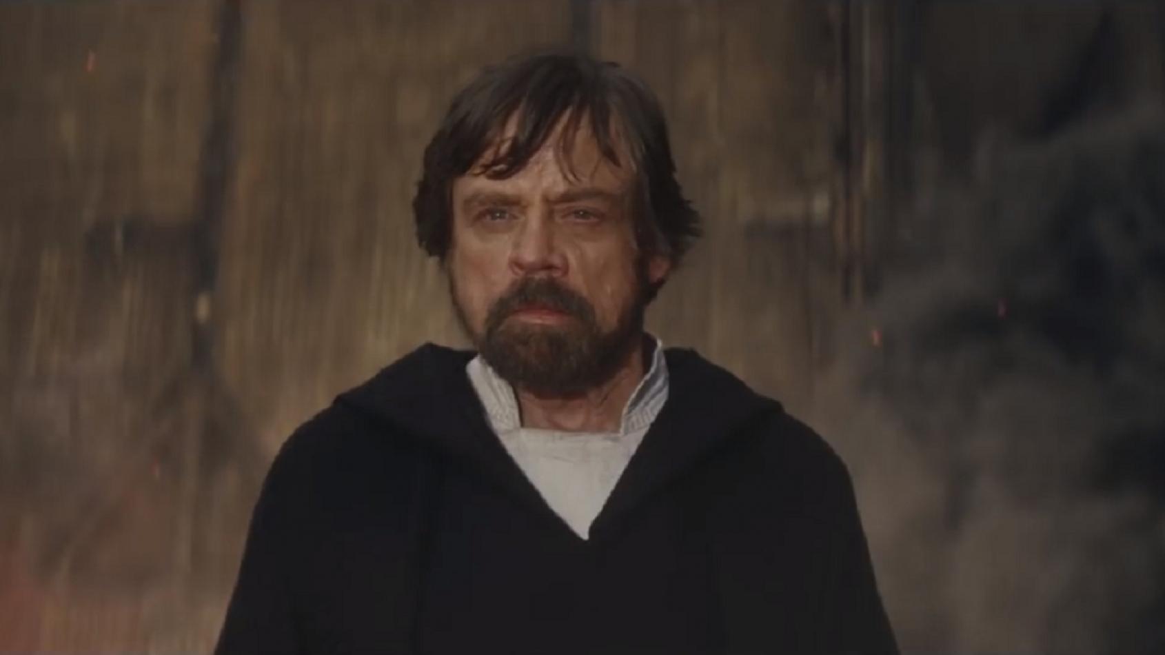 Une vidéo des coulisses des Derniers Jedi avec Luke sur Crait