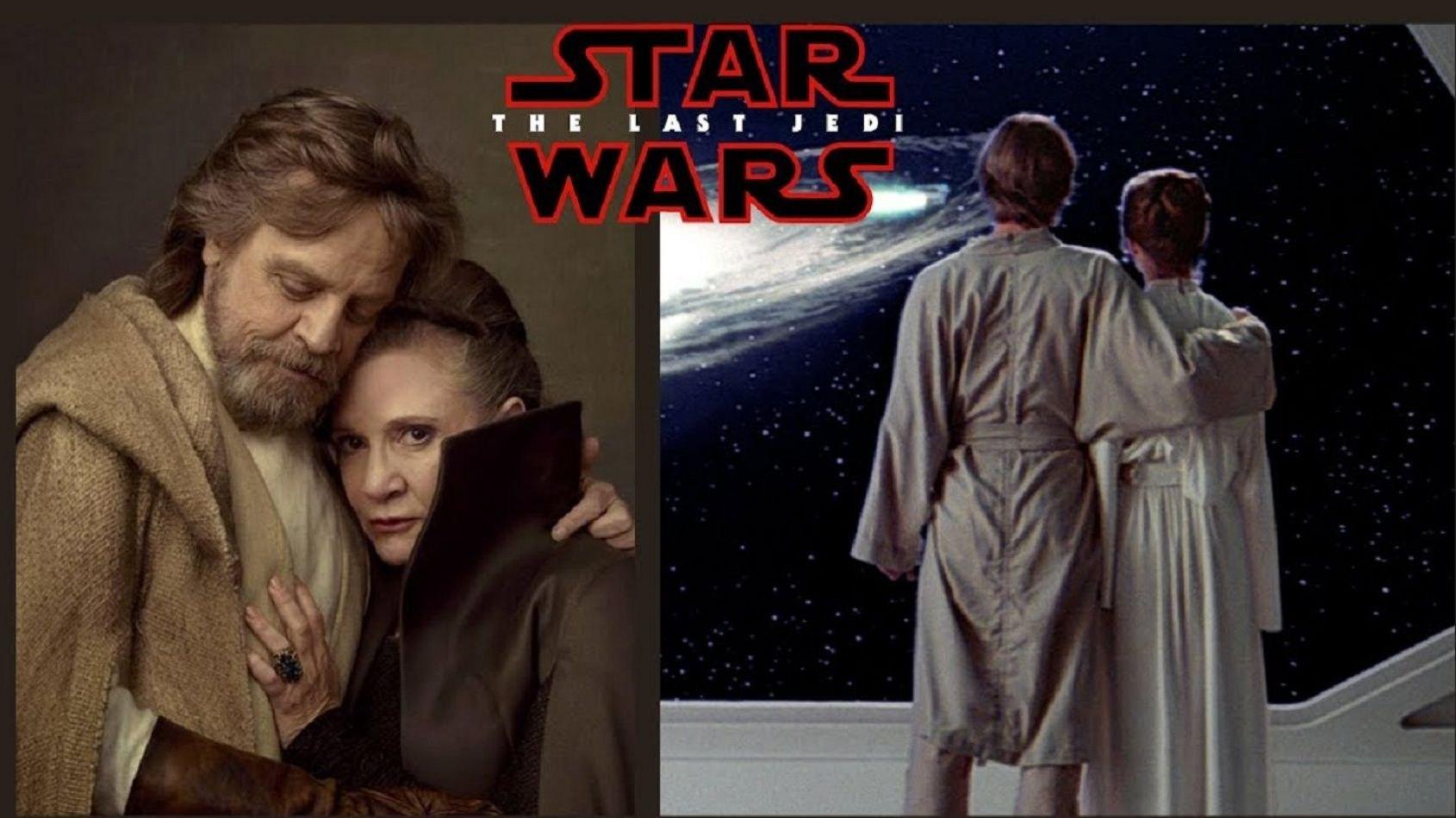 Mark Hamill et sa scène avec Carrie Fisher dans Les Derniers Jedi