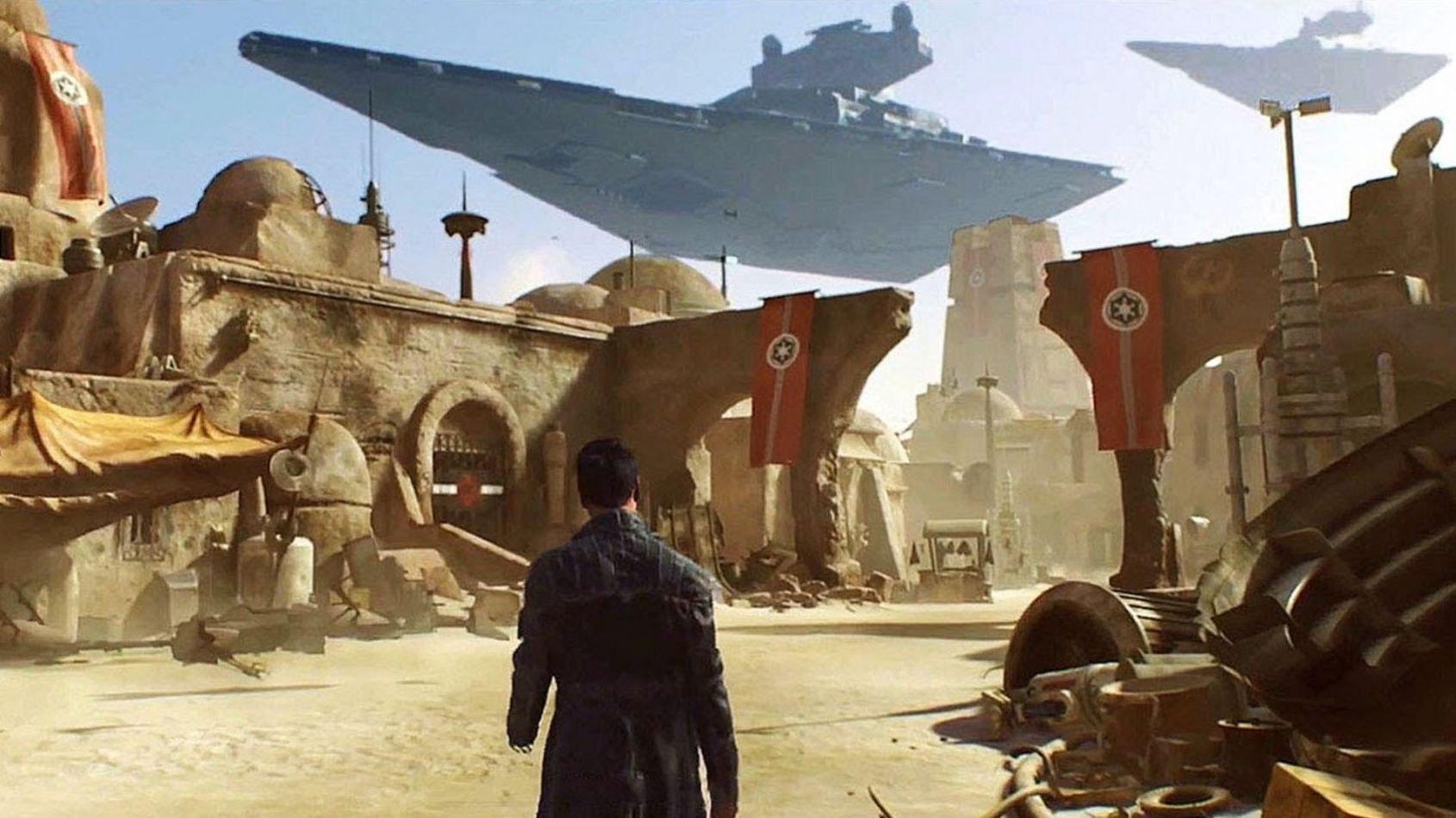 EA embauche pour un jeu Star Wars en monde ouvert