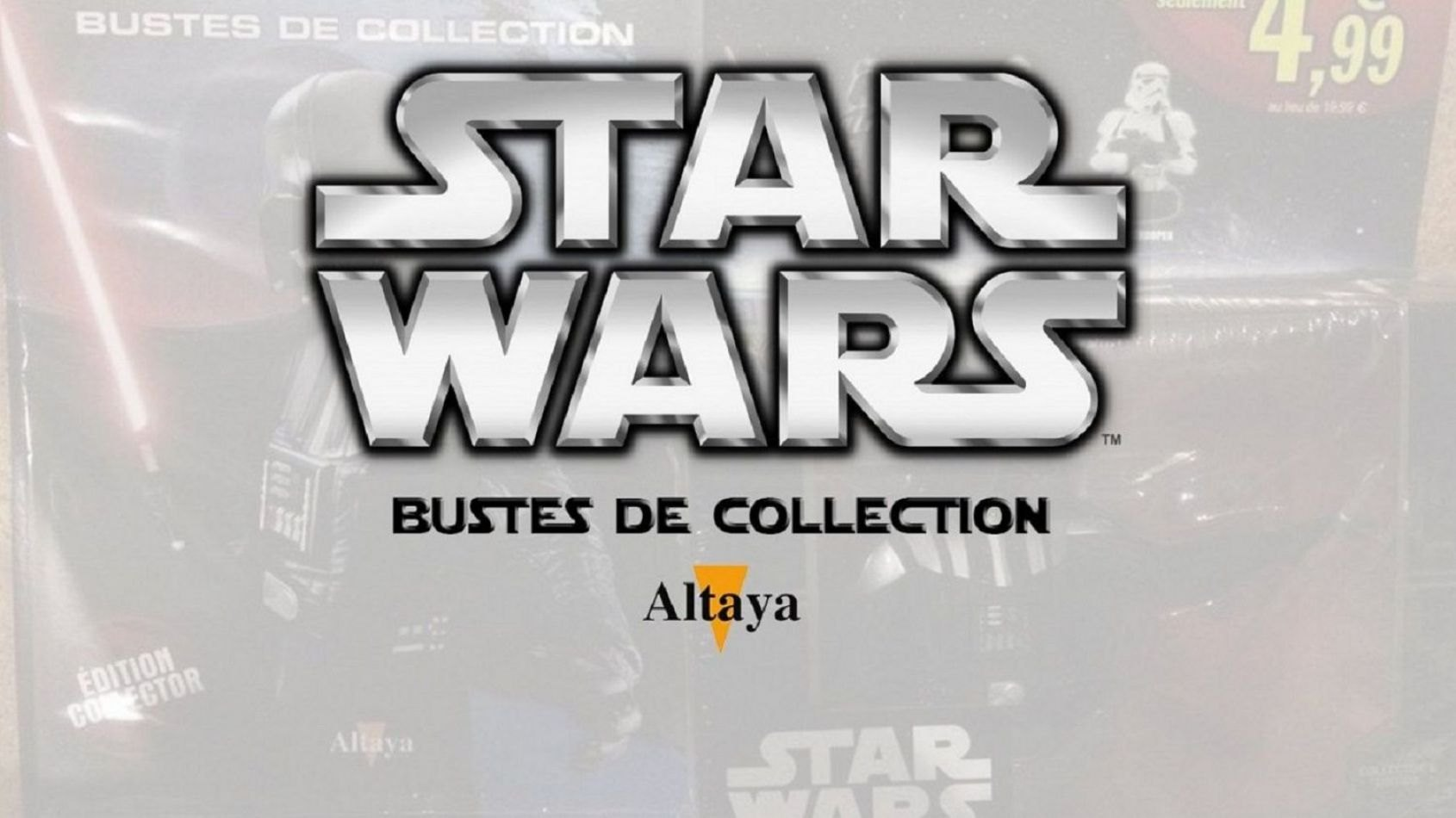 Review des Bustes Star Wars d'Altaya : épisode 3