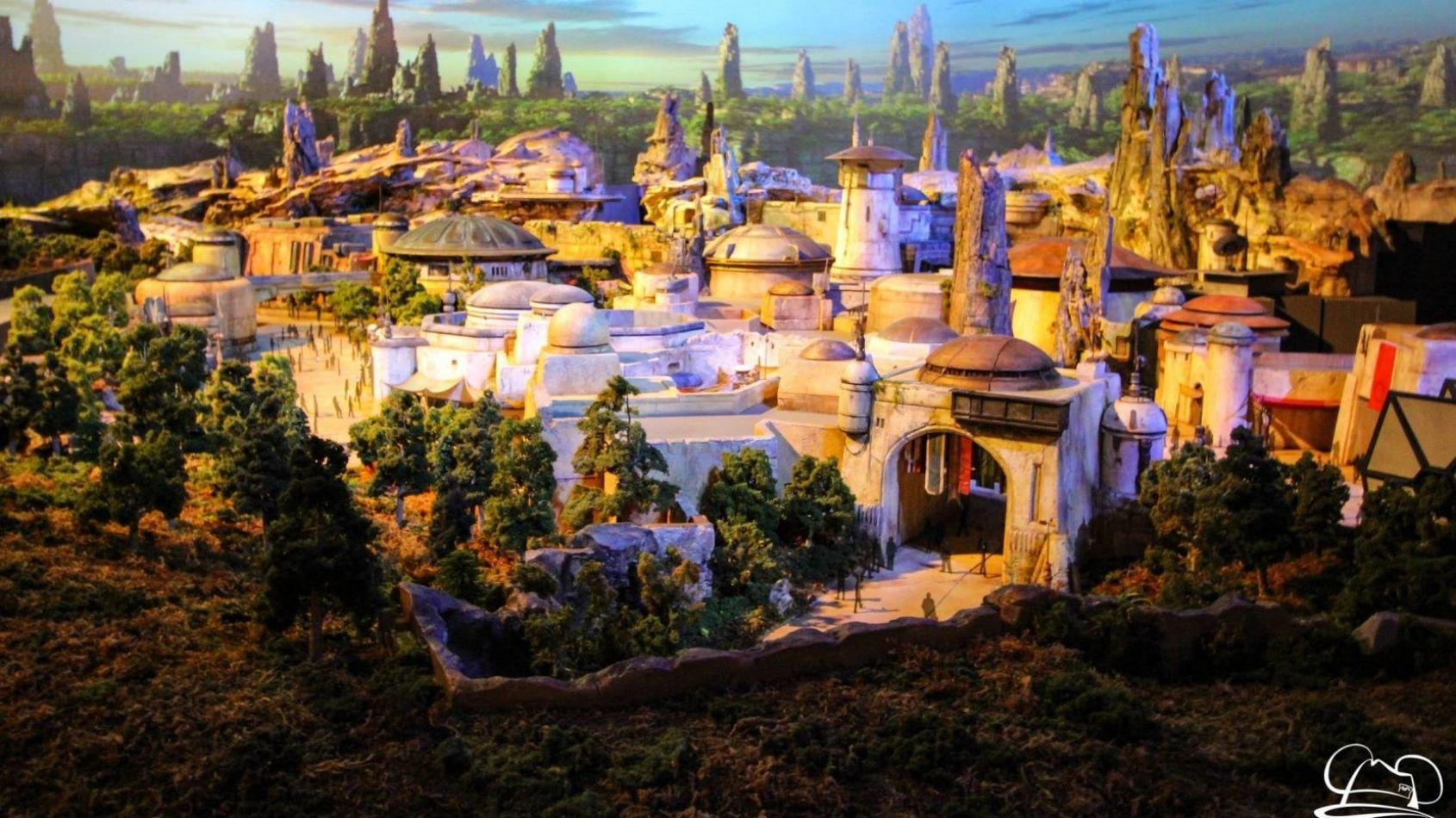 Galaxy's Edge: un premier rendu de l'attraction Faucon Millenium