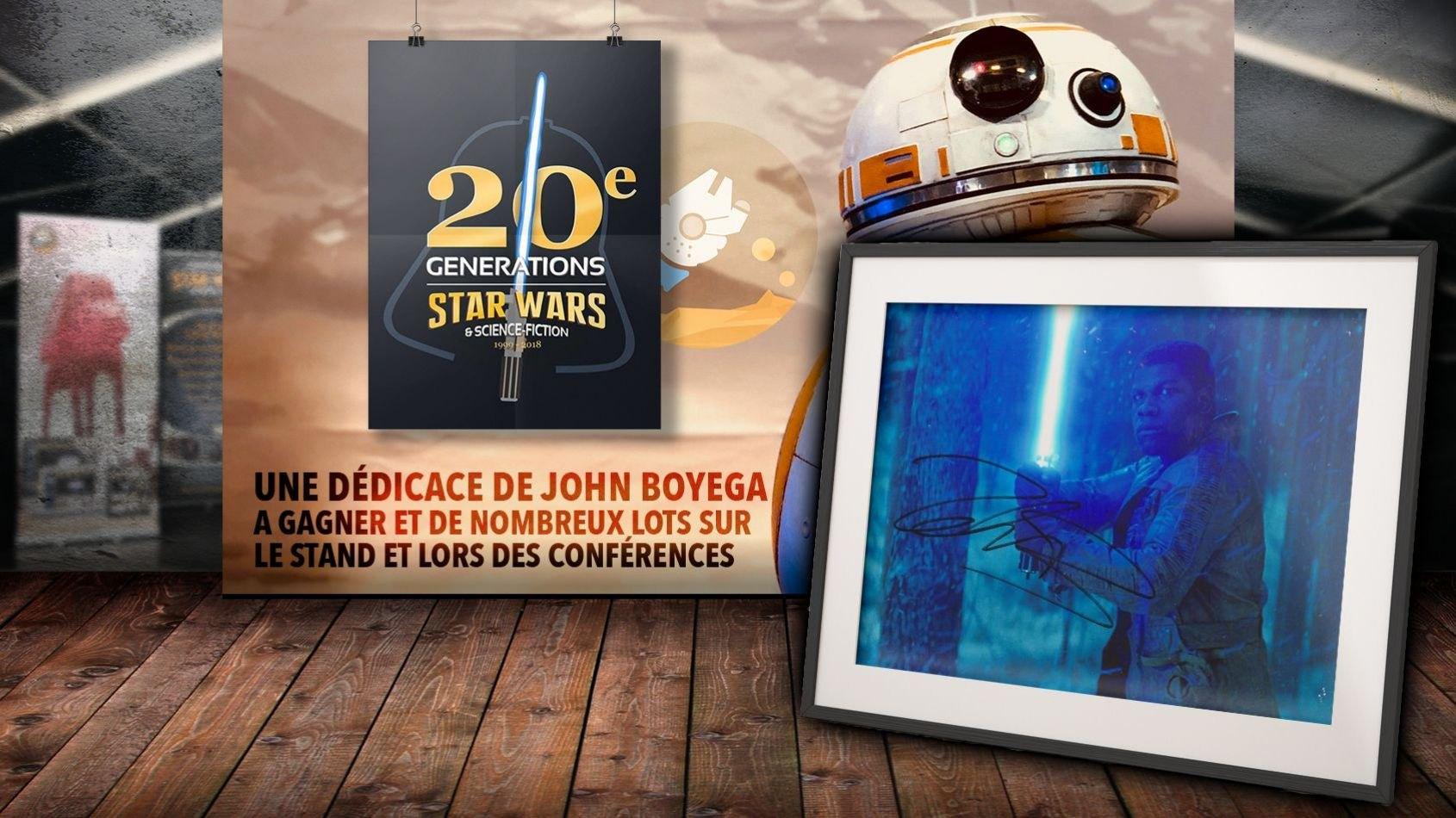 Gagnez une Dédicace de John Boyega à Générations Star Wars à Cusset !