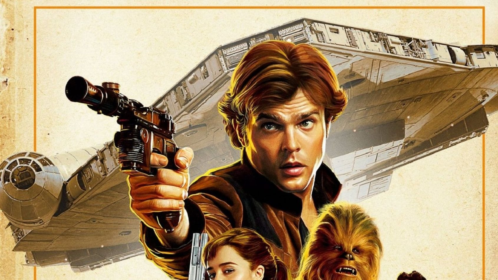 Une nouvelle affiche japonaise pour Solo A Star Wars Story