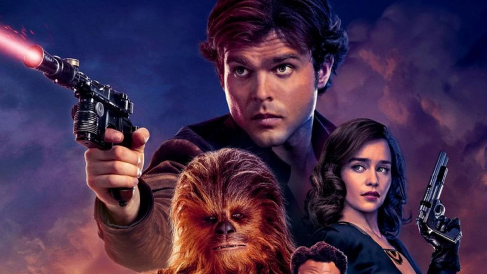Nouvelle affiche anglaise pour Solo A Star Wars Story