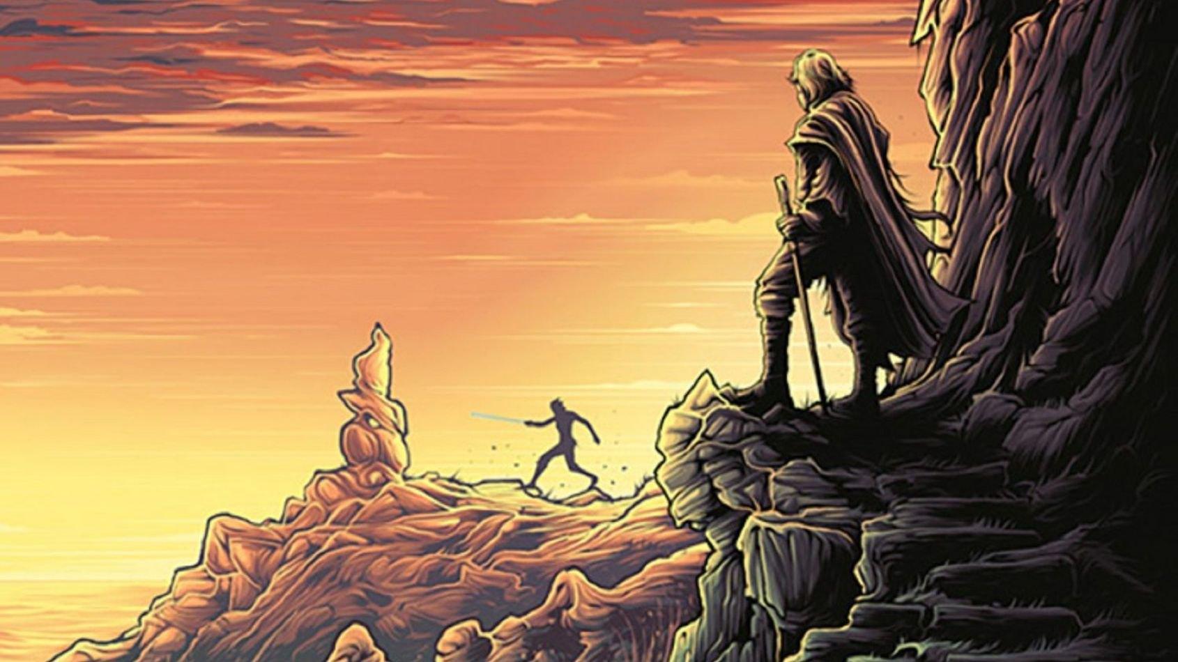 De nouveaux posters des Derniers Jedi par Dan Mumford