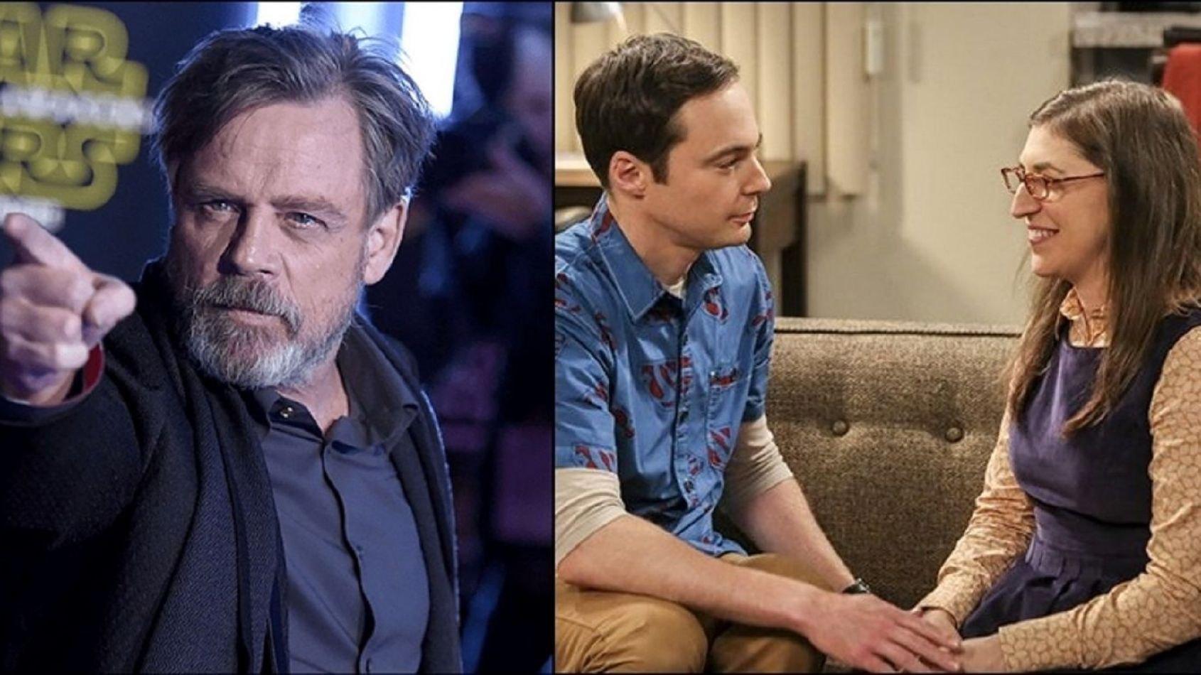 La rencontre entre les acteurs de The Big Bang Theory et Mark Hamill