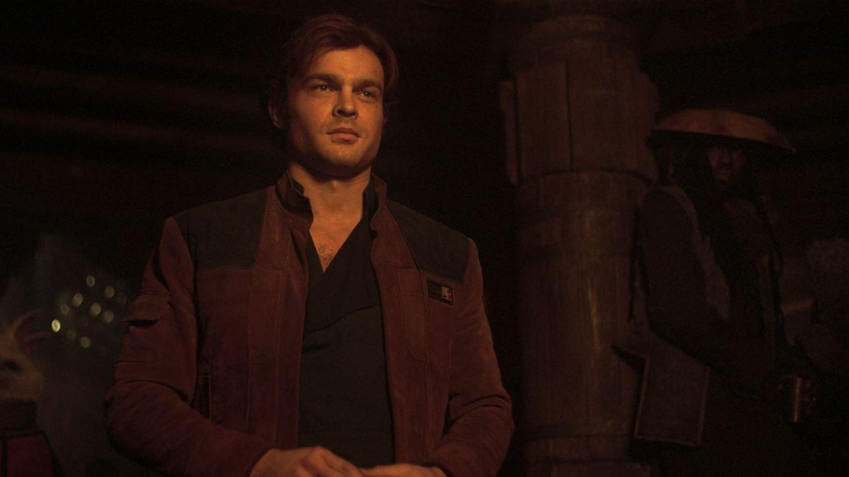 Une scène clé de Solo présentée en avant-première