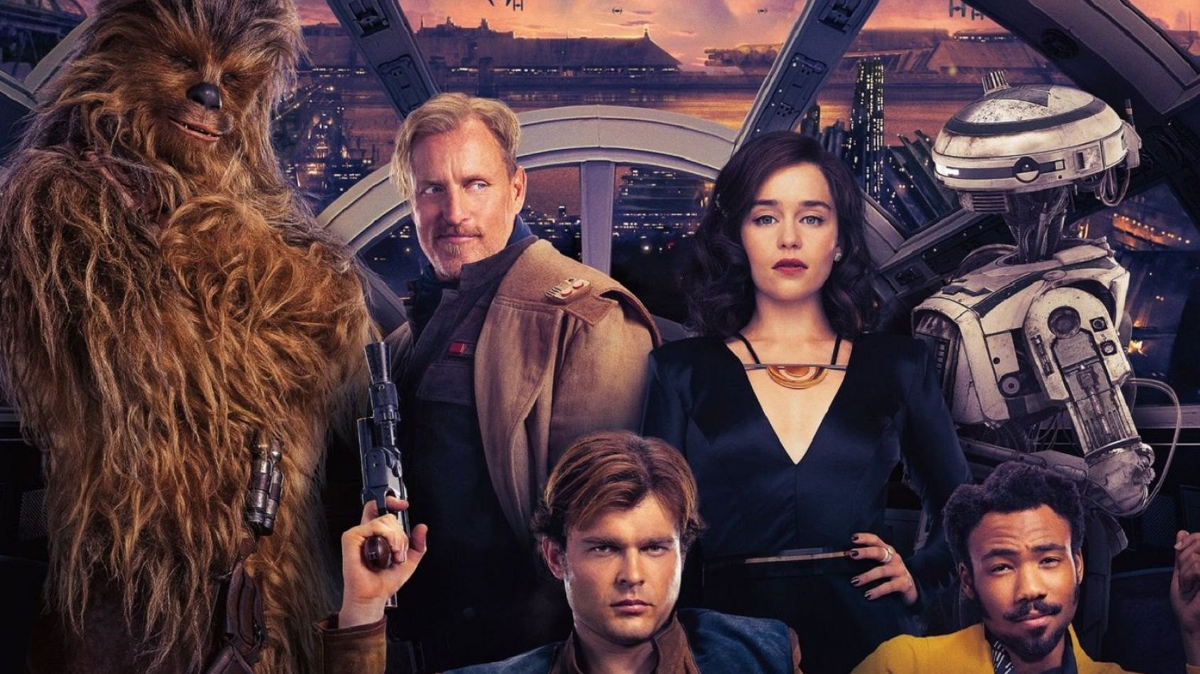 Une affiche chinoise pour Solo A Star Wars Story