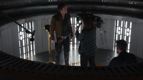 Une vidéo des coulisses de Solo A Star Wars Story