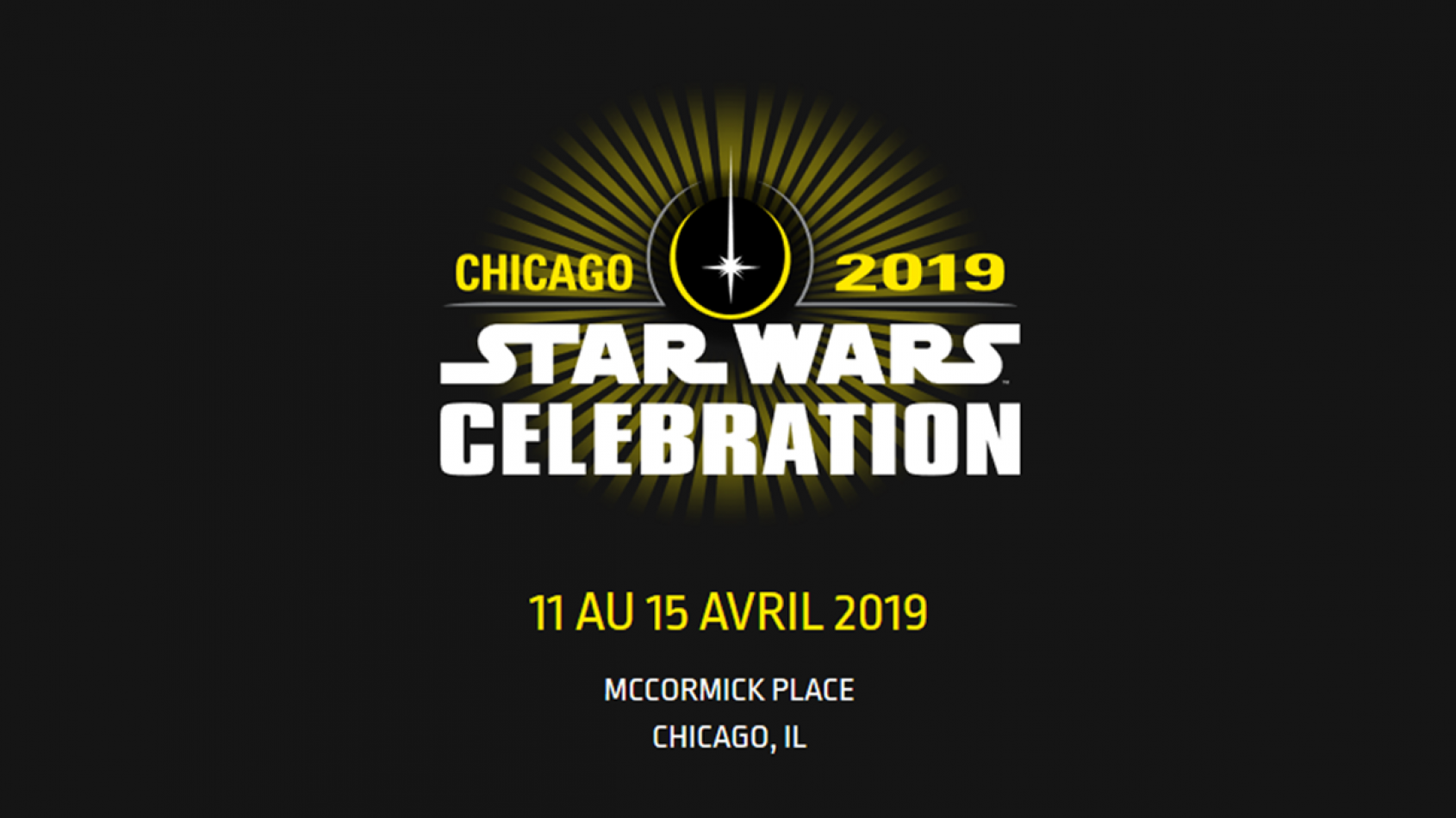 La Star Wars Celebration 2019 aura lieu à Chicago