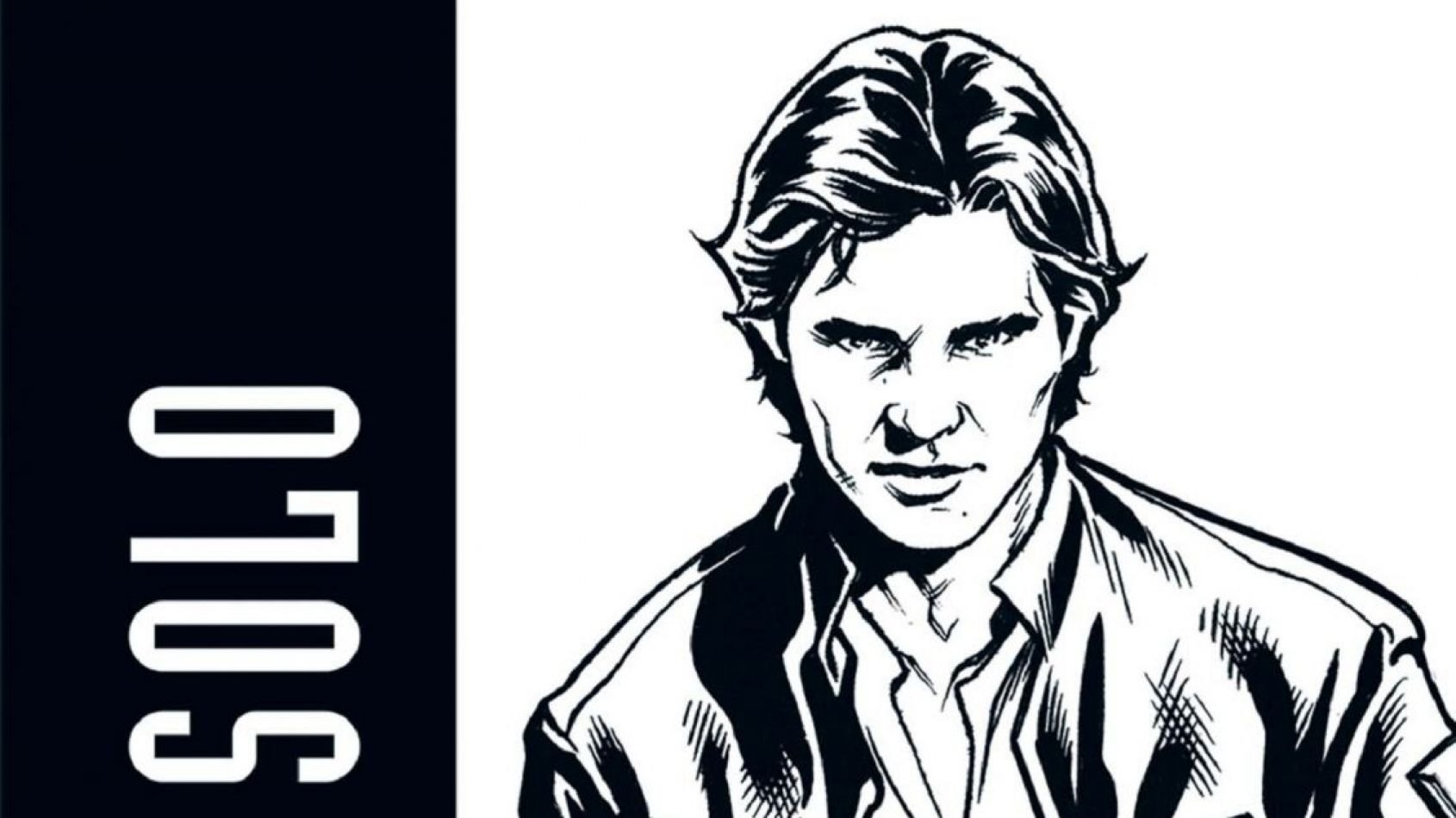 Panini : Sortie de Han Solo - Noir et Blanc -