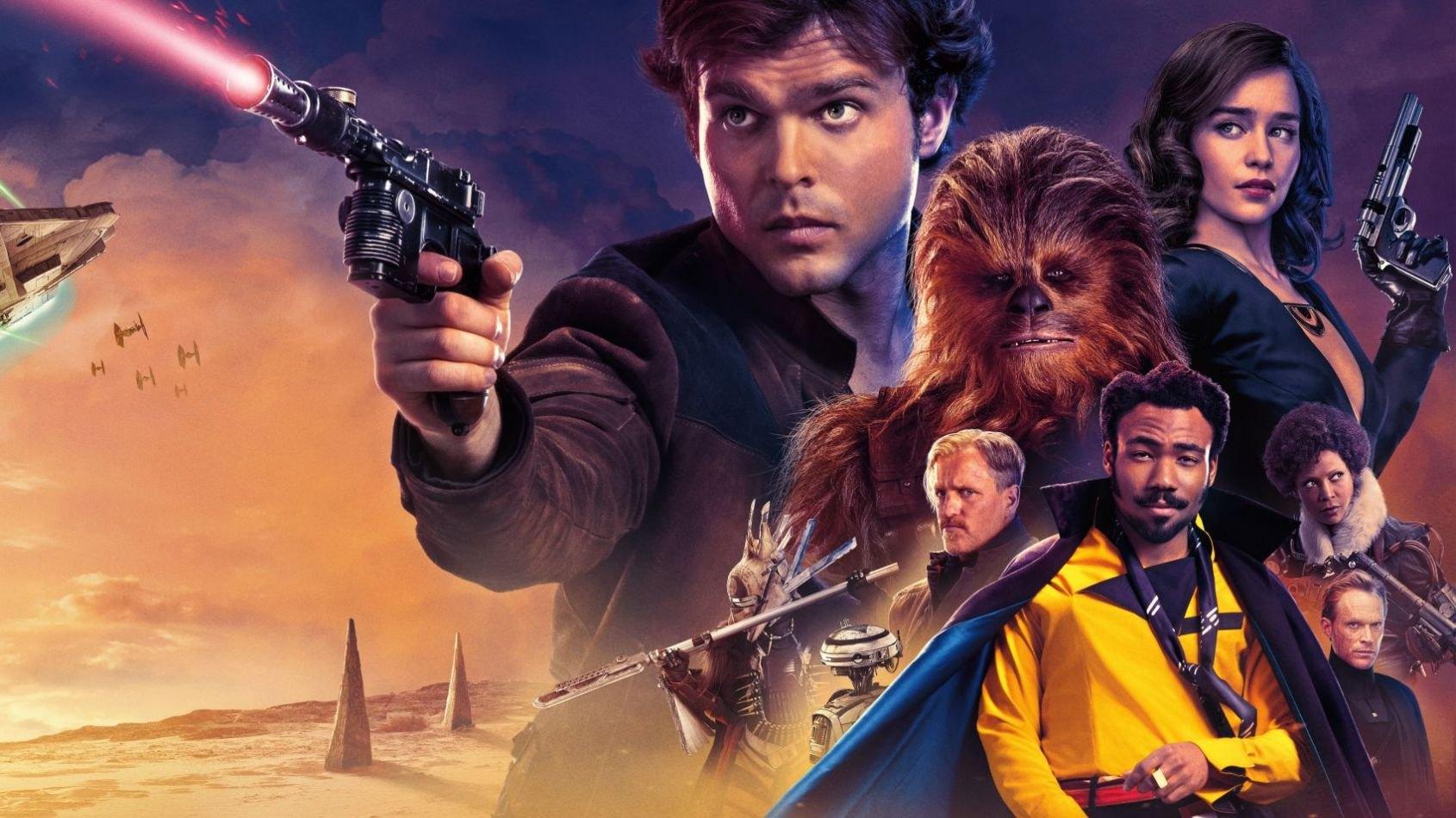 Solo a Star Wars Story est timidement en tête du box office parisien