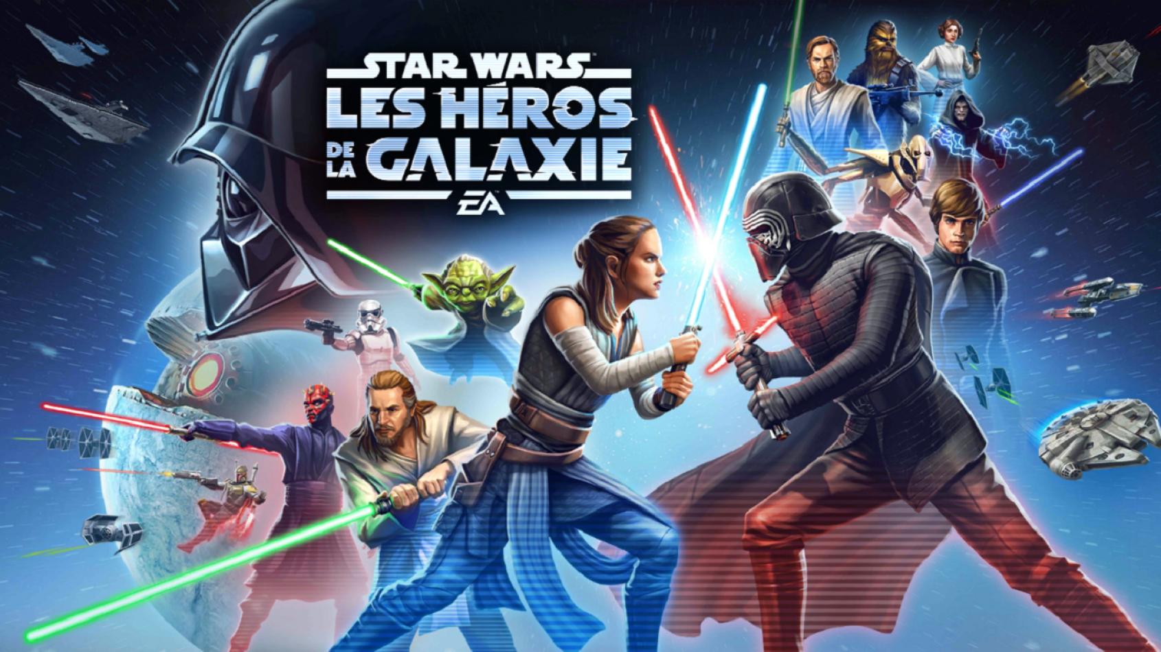Grosse mise à jour et nouveaux défis dans Galaxy of Heroes