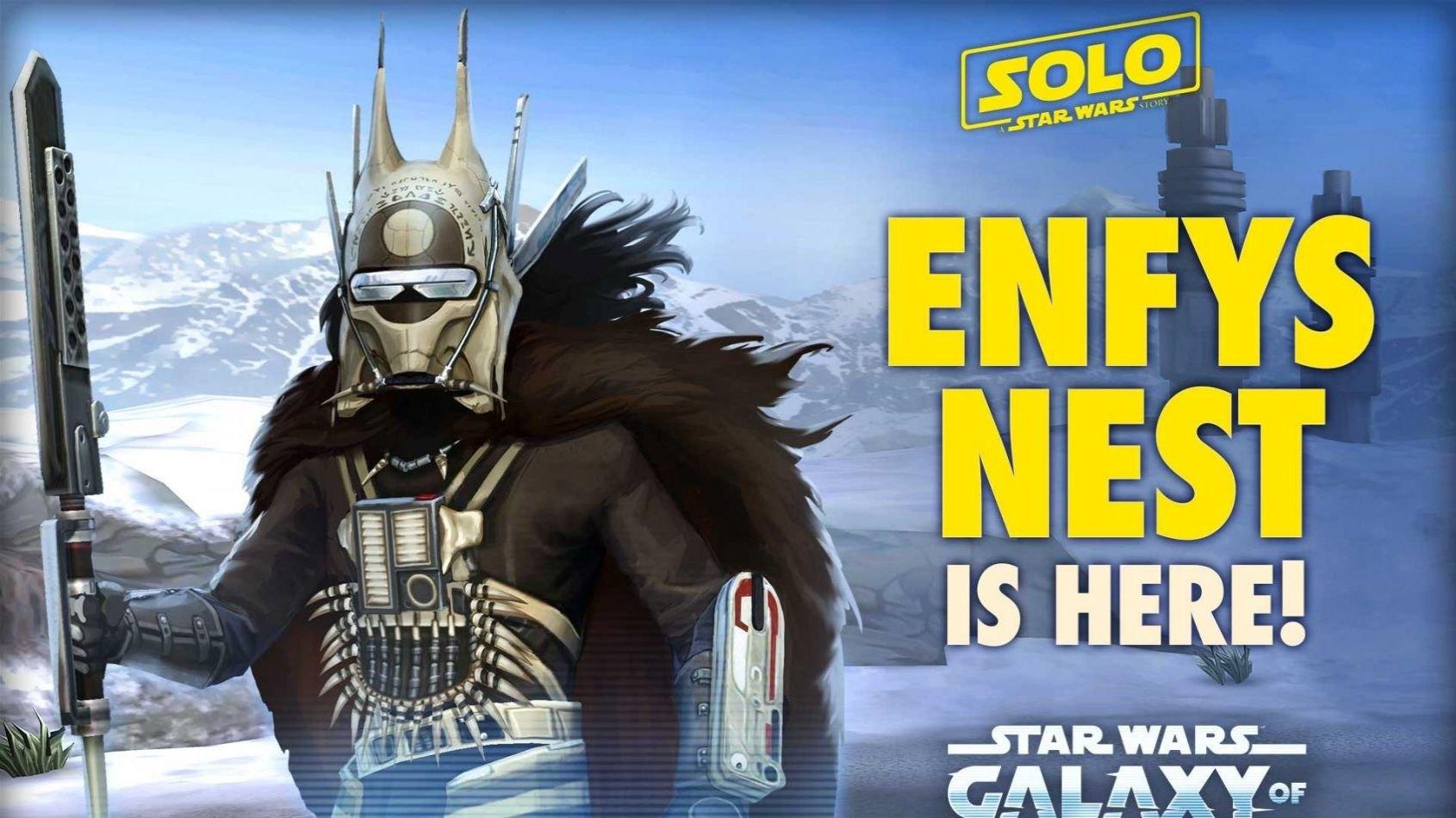 Enfys Nest, nouveau personnage pour Galaxy of Heroes