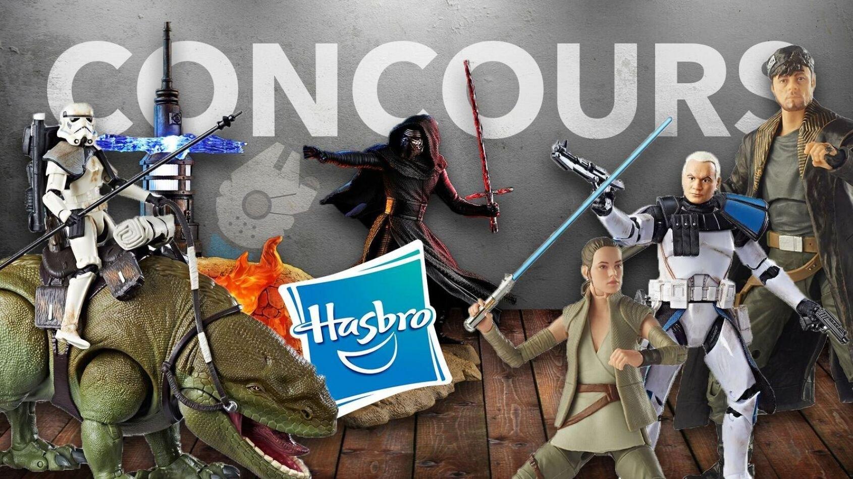 CONCOURS : Gagnez des figurines Hasbro Blackseries !