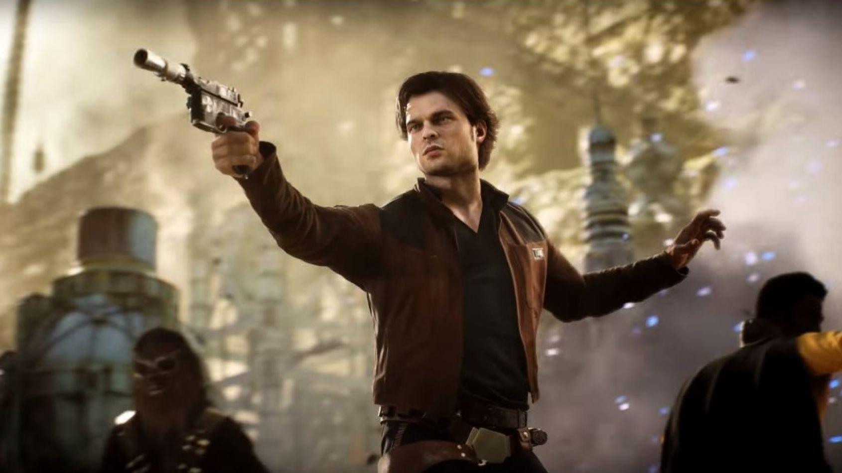 EA dégaine un trailer pour la saison Han Solo sur Battlefront II
