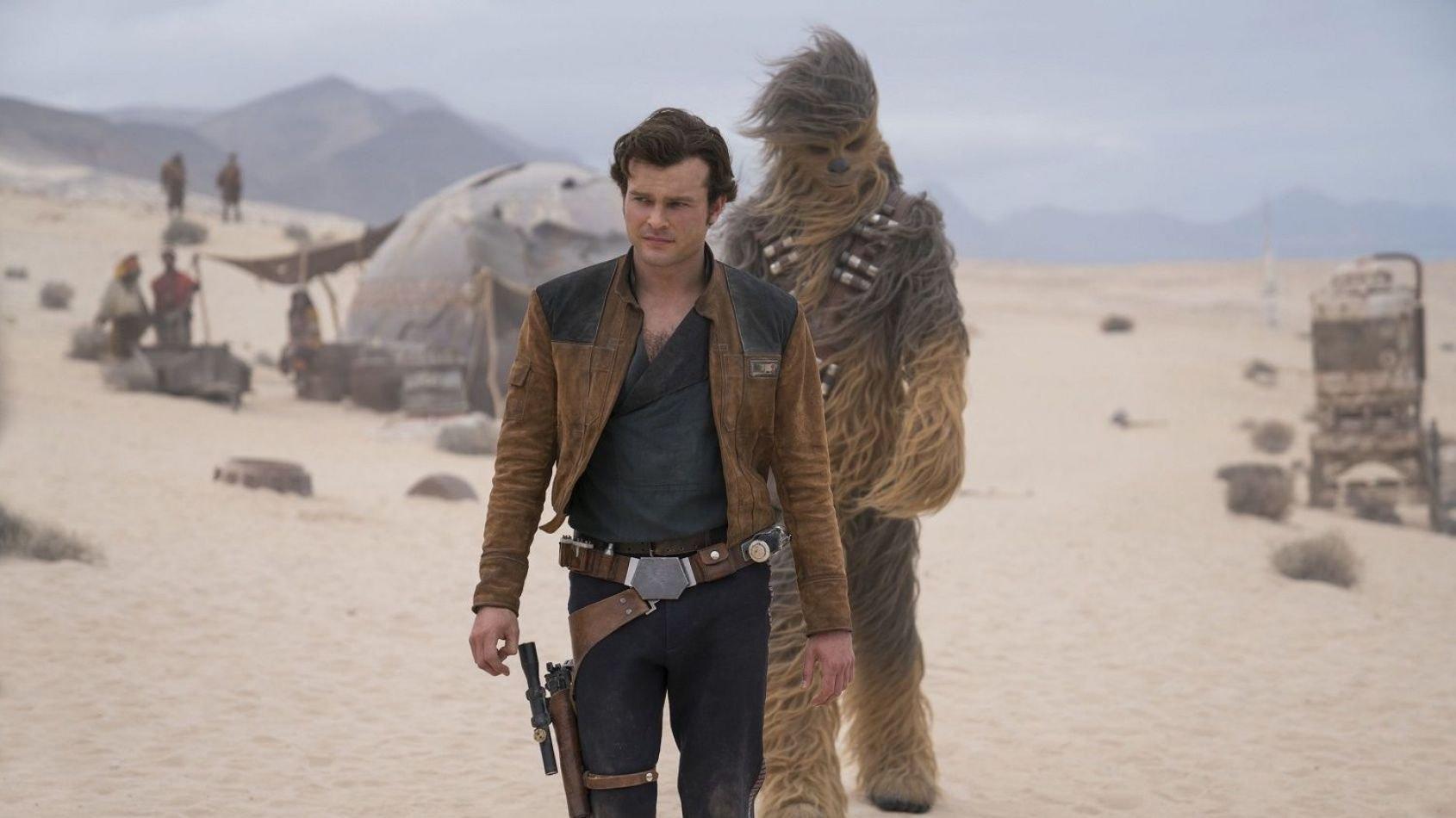 Une première jaquette américaine pour le Blu-Ray de Solo