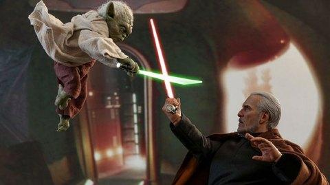 Yoda et le Comte Dooku en  format 1/6 chez Hot Toys !!