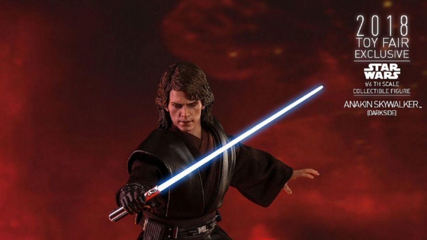 Nouvelle figurine d'Anakin Skywalker par Hot Toys, version Dark Side