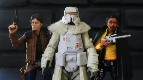 Review des figurines Solo Black Series chez Hasbro