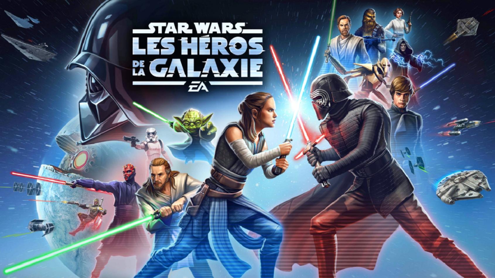 Un droïde, personnage du mois dans Galaxy of Heroes