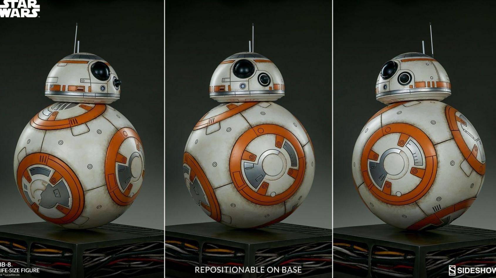 Un BB-8 taille réelle chez Sideshow !!!!