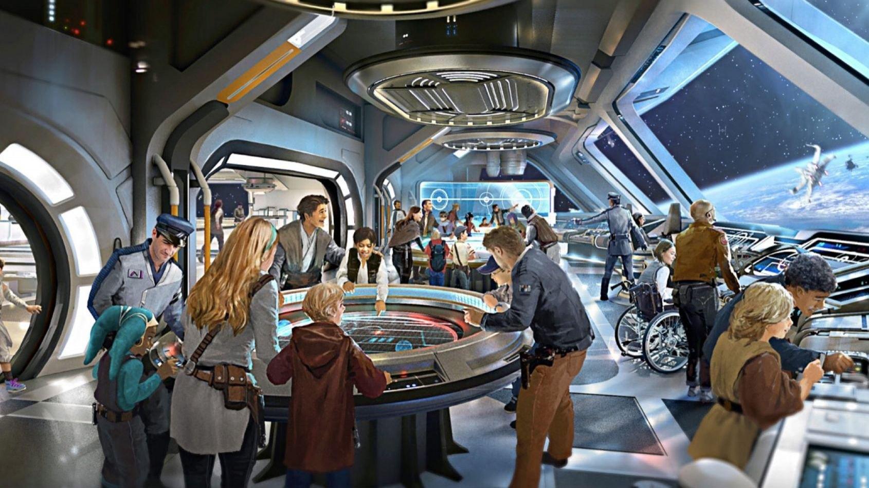 De nouvelles informations sur le Galaxy's Edge et son hôtel