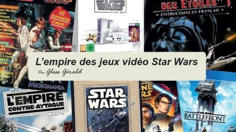Sortie de L'Empire des Jeux Vidéo Star Wars